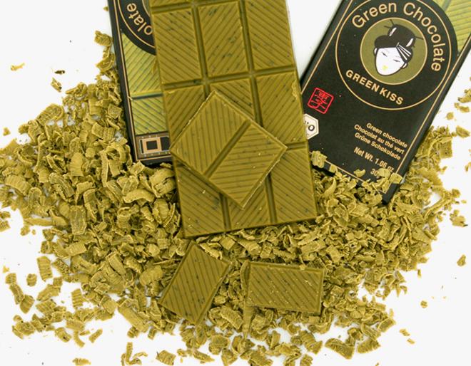 Green Kiss BIO chocolate 30 g | Keiko