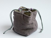 Pouch Tea Ware Cover - Grey Monch