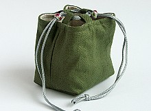 Pouch Tea Ware Cover - Green