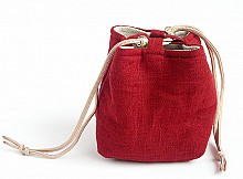 Pouch Tea Ware Cover - Red