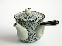 Kyusu Teapot with Flowers 339