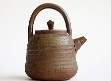 Japanese kettle for water and tea