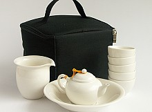 Outdoor Travelling Tea Set Shui Ping for Five Drinkers
