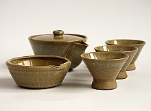 Japanese Akahada Tea Set