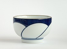 Tea cup Hakusan White - Blue